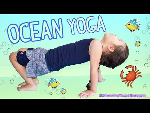 best exercise for kids ocean yoga easy exercise workout